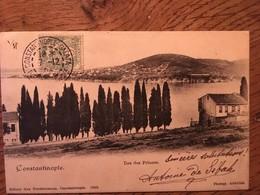 CPA, Turquie, CONSTANTINOPLE, Île Des Princes,, éd Max Fruchtermann,, écrite En 1903?, Timbre - Turkey