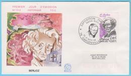 J.M. 32 - Oblitération Manuelle GF- N° 58  - COMPOSITEUR - N. BOULANGER - Musique