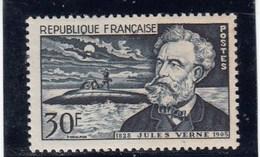 France - 1955 - N° YT 1026** - Jules Verne - Francia