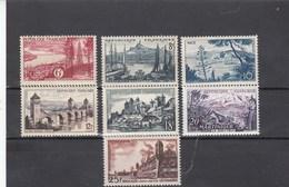 France - 1955 - N° YT 1036/42** - Série Touristique - Nuovi
