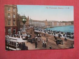 United Kingdom > Isle Of Man Douglas  Trolleys  Paper Residue On Bach  Ref 3748 - Isle Of Man