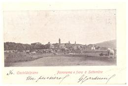CASTELDELPIANO   PANORAMA E FIERA & SETTEMBRE   1906 - Italie