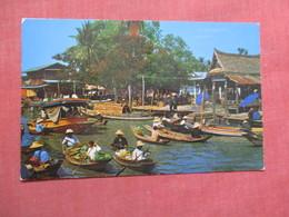 Floating Market Near Bangkok Thailand   Ref 3748 - Thailand