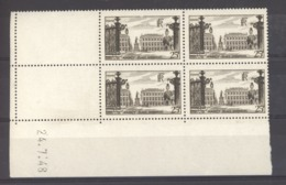 CD  678   -  France  -  Coins Datés  :  Yv  778  *  24-7-48 - Ecken (Datum)