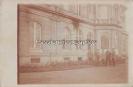 CARTE PHOTO ALLEMANDE CAMBRAI CHATEAU DE LA MOTTE FENELON 1918 - Cambrai