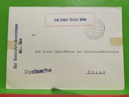 Durch Deutsche Dienstpost Ukraine 1942. Der Generalpostkommisar - Oekraïne