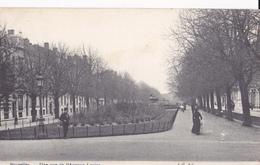 Bruxelles-Une Vue De L'Avenue Louise 1907 - Avenues, Boulevards