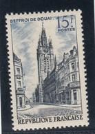 France - 1956 - N° YT 1051** - Beffroi De Douai - Francia