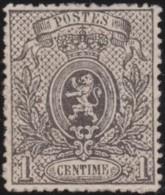 Belgie     .    OBP    .    23    .    (*)      .    Geen Gom  .   /   .  Pas De Gomme - 1866-1867 Blasón