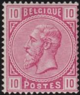 Belgie  .    OBP .    38      .  * .   Ongebruikt Met Gom  .   /   .   Neuf Avec Gomme - 1883 Leopold II