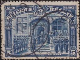 Belgie     .    OBP        .    147  (2 Scans)     .     O     .   Gebruikt      .   /   .   Oblitéré - 1915-1920 Albert I