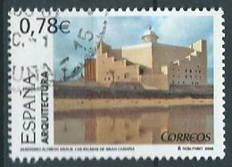 ESPAGNE SPAIN SPAIN ESPAÑA  2006 MONUMENTS:A.KRAUS AUDITORIUM (LAS PALMAS G.C) ED 4247 YT 3845 MI 4140 SG 4184 SC 3423 - 2001-10 Gebraucht
