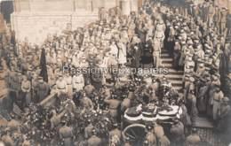 CAMBRAI 1916  TRANSPORT DU CORPS DU CAPITAINE AVIATEUR PILOTE DE CHASSE OSWALD BOELCKE - Cambrai