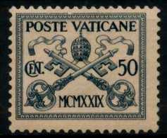 VATIKAN Nr 6 Ungebraucht X7D2286 - Vaticano (Ciudad Del)