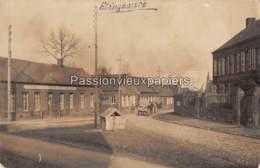 CARTE PHOTO ALLEMANDE ELINCOURT 1917 ESTAMINET DUTAILLOIR ROLAND (RUE D'AVELU) - Frankrijk
