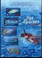 TAAF - BF18** - LES ÎLES EPARSES - Blokken & Velletjes