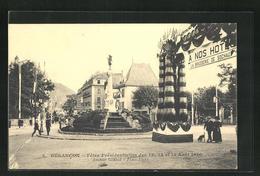 CPA Besancon, Avenue Cannot, Place Flore - Besancon