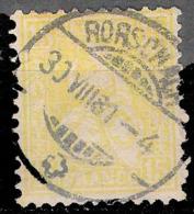 2809  Suiza - Yv  52 - Used - 35,00 (275) - 1882-1906 Armoiries, Helvetia Debout & UPU