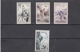 France - 1956 - N° YT 1072/75** - Série Sportive - Francia