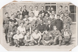 MILITARIA. CARTE PHOTO.ALLEMAGNE. GREIFSWALD. PRISONNIERS. STALAG II C. CENSURE. - Guerra 1939-45