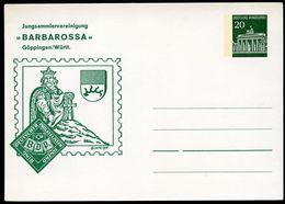 Bund PP43 B2/001 BARBAROSSA GÖPPINGEN 1968  NGK 5,00 € - BRD
