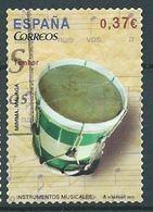 SPANIEN ESPAGNE SPAIN ESPAÑA 2013 MUSICAL INSTRUMENT: TAMBOR 0,37 MI 4762 SG 4756 SC 3898A YV 4467 ED 4781 - 1931-Heute: 2. Rep. - ... Juan Carlos I