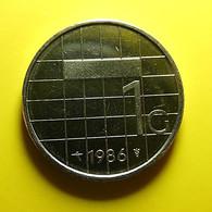 Netherlands 1 Gulden 1986 - [ 3] 1815-… : Kingdom Of The Netherlands