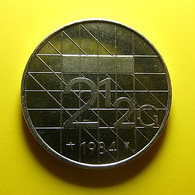 Netherlands 2 1/2 Gulden 1984 - 1980-… : Beatrix
