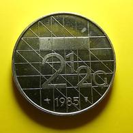 Netherlands 2 1/2 Gulden 1985 - [ 3] 1815-… : Kingdom Of The Netherlands