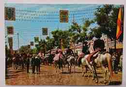 SEVILLA - Feria De Abril - April Fair    Vg S2 - Sevilla (Siviglia)
