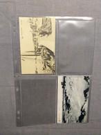 29 Feuilles Transparentes Pour 4 Cartes Postales; (29 Tranparante Inlegbladen Voor 4 Postkaarten) - Matériel