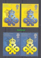 Great Britain 1990 Mi 1266-1269 MNH ( ZE3 GBR1266-1269 ) - Expositions Universelles