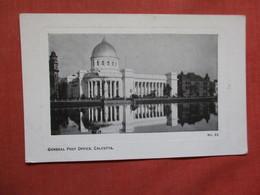 General Post Office Calcutta   India Ref 3749 - India