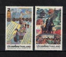 THAILAND ,  1997 , ** , MNH , Postfrisch ,  Mi.Nr. 1746 - 1747 - Thailand