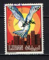 LIBANO - 1984 - Dove Over City - USATI - Libano