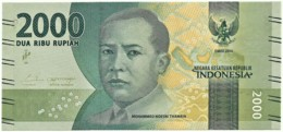 Indonesia - 2000 Rupiah - 2016 - Unc. - Pick 155 - Serie BAL - Mohammad Hoesni Thamrin - 2 000 - Indonésie