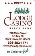 The Lodge Casino Black Hawk CO Hotel Room Key Card - Reverse Upside Down - Hotel Keycards