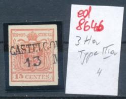 Österreich-Levante  Nr.  3  Type-Stempel     (ed8646  ) Siehe Scan - Oriente Austriaco