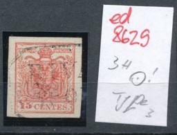 Österreich-Levante  Nr.  3  Type-Stempel     (ed8629  ) Siehe Scan - Oriente Austriaco