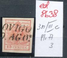 Österreich-Levante  Nr.  3  Type-Stempel     (ed8638  ) Siehe Scan - Oriente Austriaco