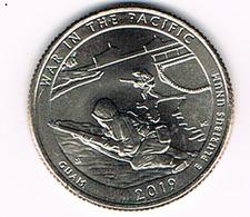 ¼ Dollar ''Washington Quarter'' War In The Pacific, UNC, 2019 - Emissioni Federali