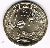 "1 Dollar ""Native American Dollar"" , UNC, 2019, American Indians In The Space Program - 2000-…: Sacagawea"