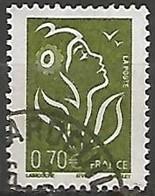 FRANCE N° 3736 OBLITERE - 2004-08 Marianne De Lamouche