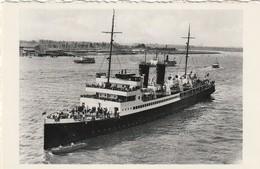 Mailboot Oostende Dover Op Bezoek In Antwerpen. La Malle Ostende Douvres En Visite A Anvers - Traghetti