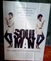 Aff Cine Orig SOUL MAN (1986) 120x160cm James Earl Jones Leslie Nielsen - Plakate & Poster