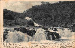 Brazil Sao Paulo Salfo De Itu Waterfalls Postcard - São Paulo