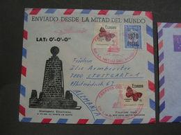 Ecuadorf , Nice Cv.  1970 ? Schmeterlinge - Ecuador