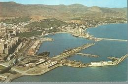 Malaga. Vista Parcial Y Puerto. - Málaga