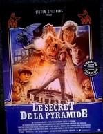 Aff Cine Orig LE SECRET DE LA PYRAMIDE 40X60 Spielberg Barry Levinson 1985 - Affiches & Posters