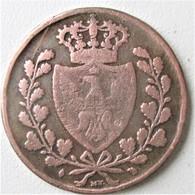 "ITALIE - ROYAUME DE SARDAIGNE, 5 Centesimi 1826, Type Au ""L"",  Turin, TB - Regional Coins"